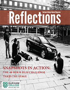 Front Cover of Reflections Fall 2018 Issue